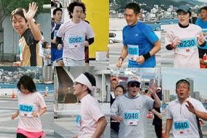 当院の10Kmマラソン参加者は8名