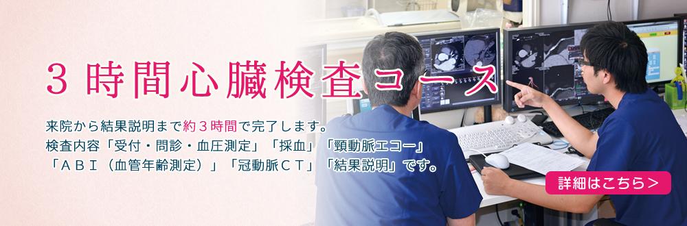 3時間心臓検査コース